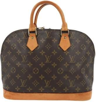Louis Vuitton Alma cloth handbag