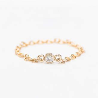 I Am Jewelry By Jamie Park 14K Gold Diamond Chain Ring
