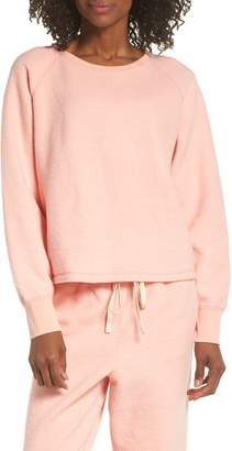 Madewell Fleece Pajama Sweatshirt
