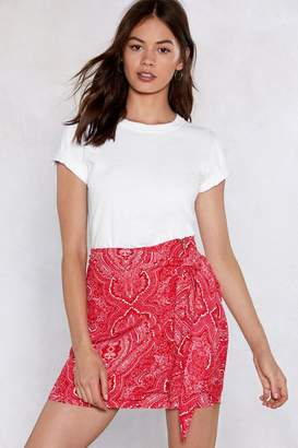 Nasty Gal Love On the Side Mini Skirt