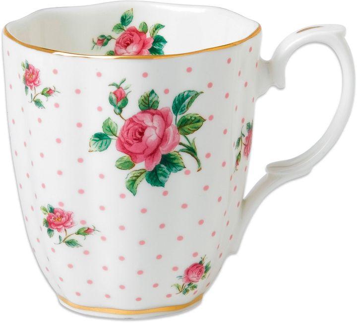 Royal Albert Roses Mug in Pink