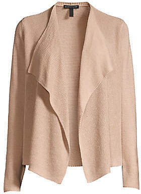 Eileen Fisher Women's Drape Knit Organic Linen-Blend Cardigan