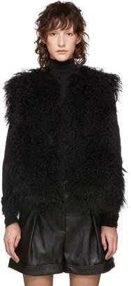 Yves Salomon Meteo Black Short Vest