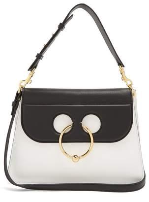 J.W.Anderson Pierce medium two-tone leather shoulder bag