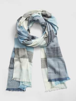 Gap Oversized Cozy Frayed Scarf