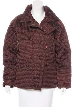 Moncler Hooded Patterned Jacket