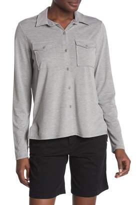 Joe Fresh Knit Button Down Shirt