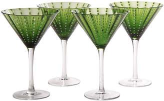 Artland Cambria Set of 4 Martini Glasses