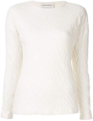 Mansur Gavriel Wavy long sleeve shirt