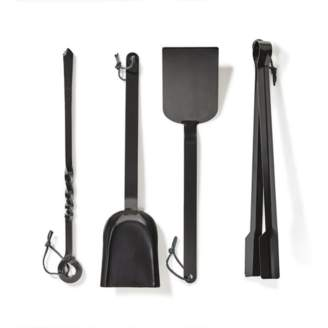 Billy Twang 4-Piece Forged Iron Grill Set