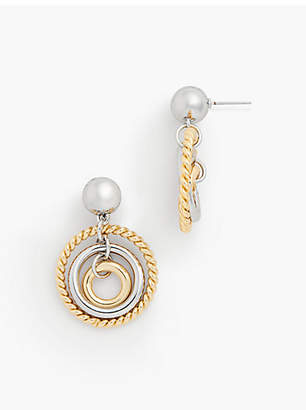 Talbots Circle Earrings