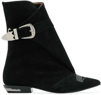 Toga Pulla buckle boots