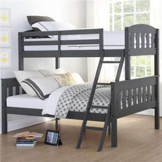 Dorel Asia Dorel Living Airlie Twin Over Full Wood Bunk Bed, Multiple Colors