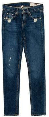 Rag & Bone Low-Rise Jeans