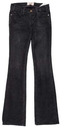 Current/Elliott Low-Rise Corduroy Wide-Leg Pants w/ Tags