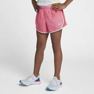Nike Dri-FIT Big Kids' (Girls') Printed Running Shorts