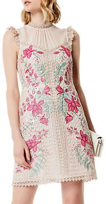 Karen Millen Wisteria Dress, Multi