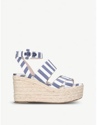 Nine West Kushala wedge heel sandals