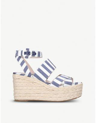 7daf721b83e Nine West Wedge Heel Women s Sandals - ShopStyle