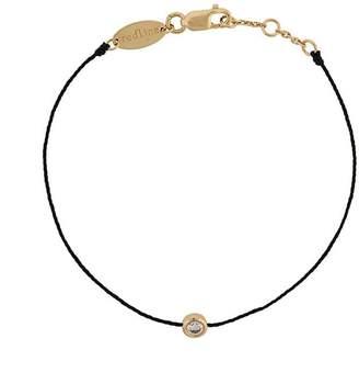 Redline 18kt gold and diamond string bracelet