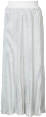 ADAM by Adam Lippes Lurex ribbed knit skirt