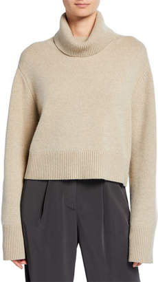 Co Boxy Turtleneck Flare Sleeve