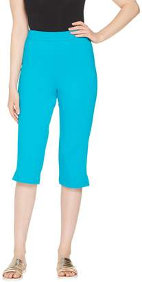 Joan Rivers Classics Collection Joan Rivers Petite Joan's Signature Pull-On Capri Pants