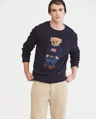 Ralph Lauren The Iconic Polo Bear Sweater