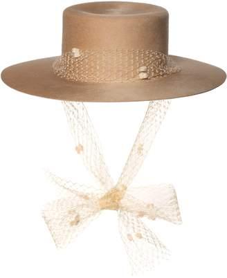 Bijou Van Ness The Debutante Wool Felt Hat