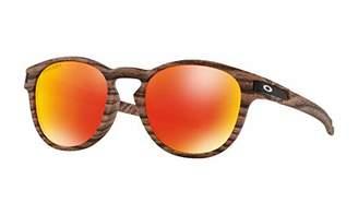 Oakley Men's Latch (a) Non-Polarized Iridium Round Sunglasses