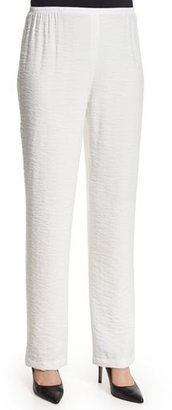 Caroline Rose Cabo Straight-Leg Crinkled Pants, Petite $155 thestylecure.com