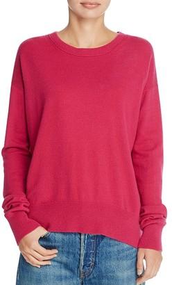 Vince Boxy Drop Shoulder Cashmere Sweater $320 thestylecure.com