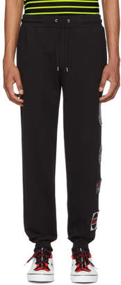 McQ Black Patch Dart Lounge Pants