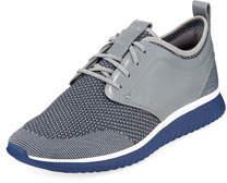 Men's Grand Motion Knit Sneaker Gray