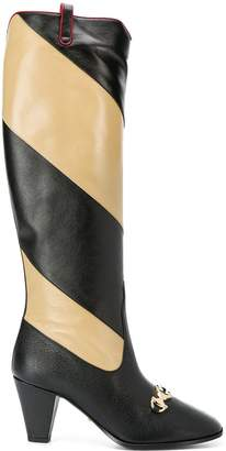 Gucci knee-length boots