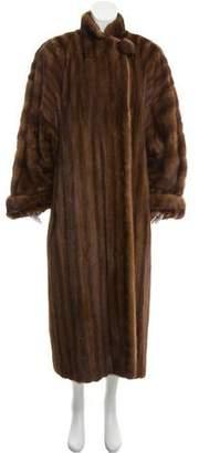 Valentino Structured Fur Coat