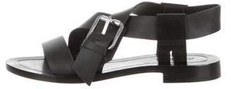 Kenzo Leather Slingback Sandals
