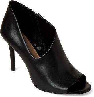 6a58b9f21086 Vince Camuto Black Careeta Leather Peep Toe Booties
