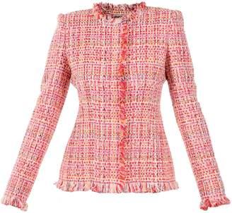 Alexander McQueen Fancy Tweed Jacket