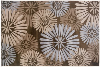 Linon Milan Floral Rug