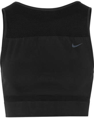 Nike Cropped Stretch Dri-fit Tank