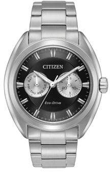 Citizen Paradex Eco-Drive Analog Stainless Steel Watch