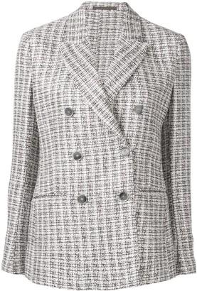Eleventy bouclé tweed blazer