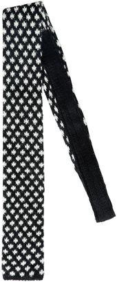 6cm Shetland Wool Jacquard Sock Tie $124 thestylecure.com