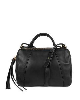 Kooba Turner Leather Micro Duffel Bag, Black $198 thestylecure.com