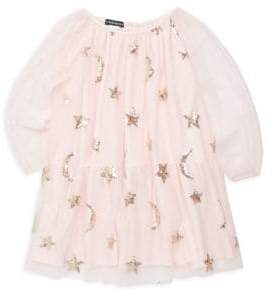Kate Mack Baby Girl's& Little Girl's Sequin Star Dress