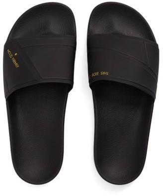 Men's Adidas By Raf Simons Bunny Adilette Slide Sandal $170 thestylecure.com