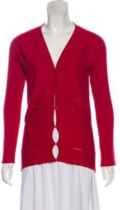 Versace Wool-Blend Cardigan
