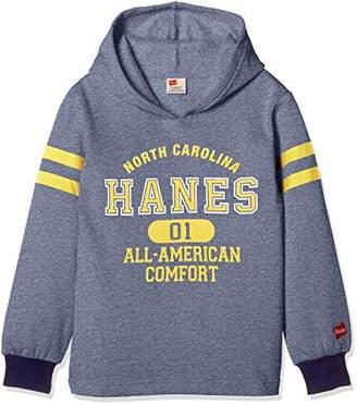 Hanes (へインズ) - [ヘインズ] 子供服 プルパーカ HX8770 [ジュニア] ボーイズ ネイビー 日本 130 (日本サイズ130 相当)