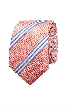 Geoffrey Beene Textured Stripe Tie